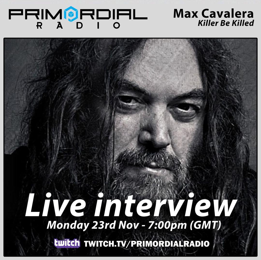 Chatting with Max Cavalera