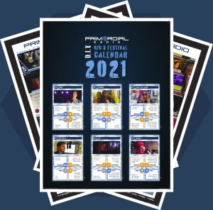 Primordial Radio Calendar 2021