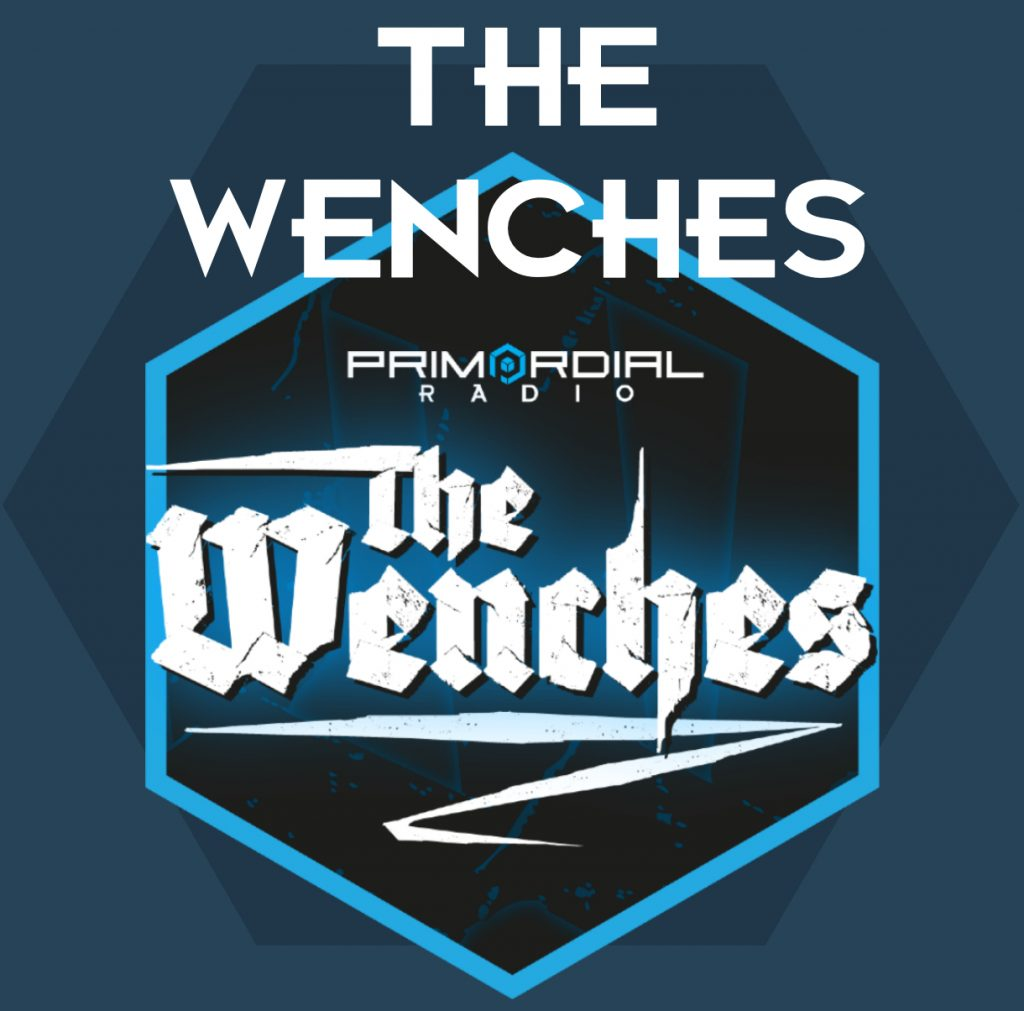 The Wenches on Primordial Radio Logo