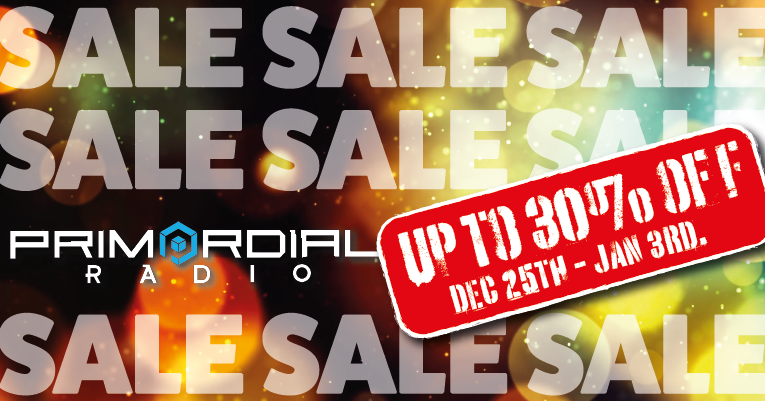 Primordial Radio Christmas Sale 2020