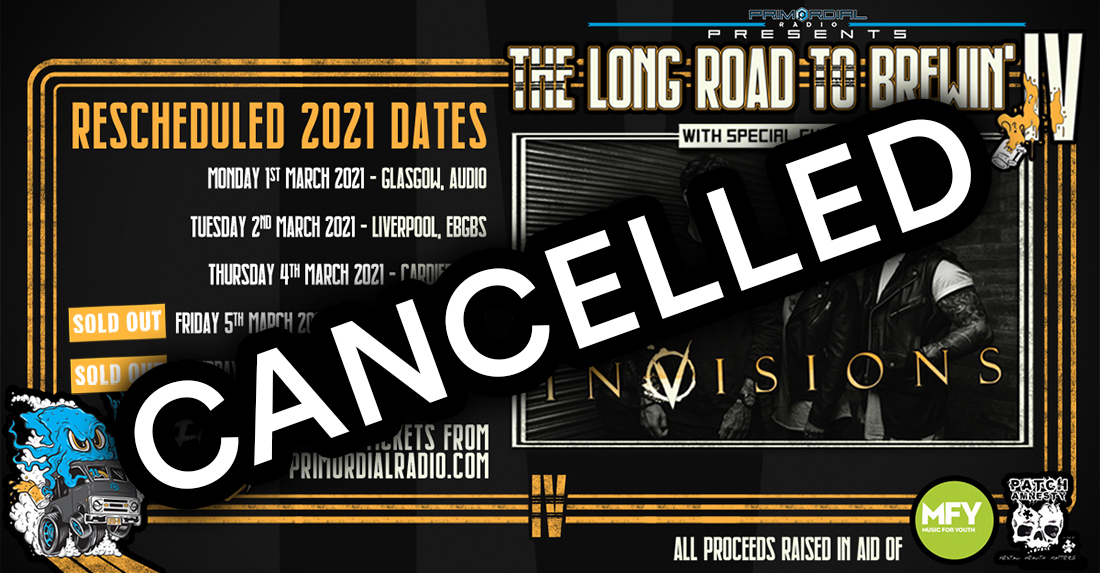 InVisions Long Road To Brewin' IV Tour Cancelled Image