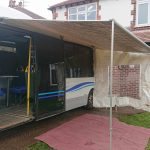 Primordial Radio Inkubus Camper - an erect awning !