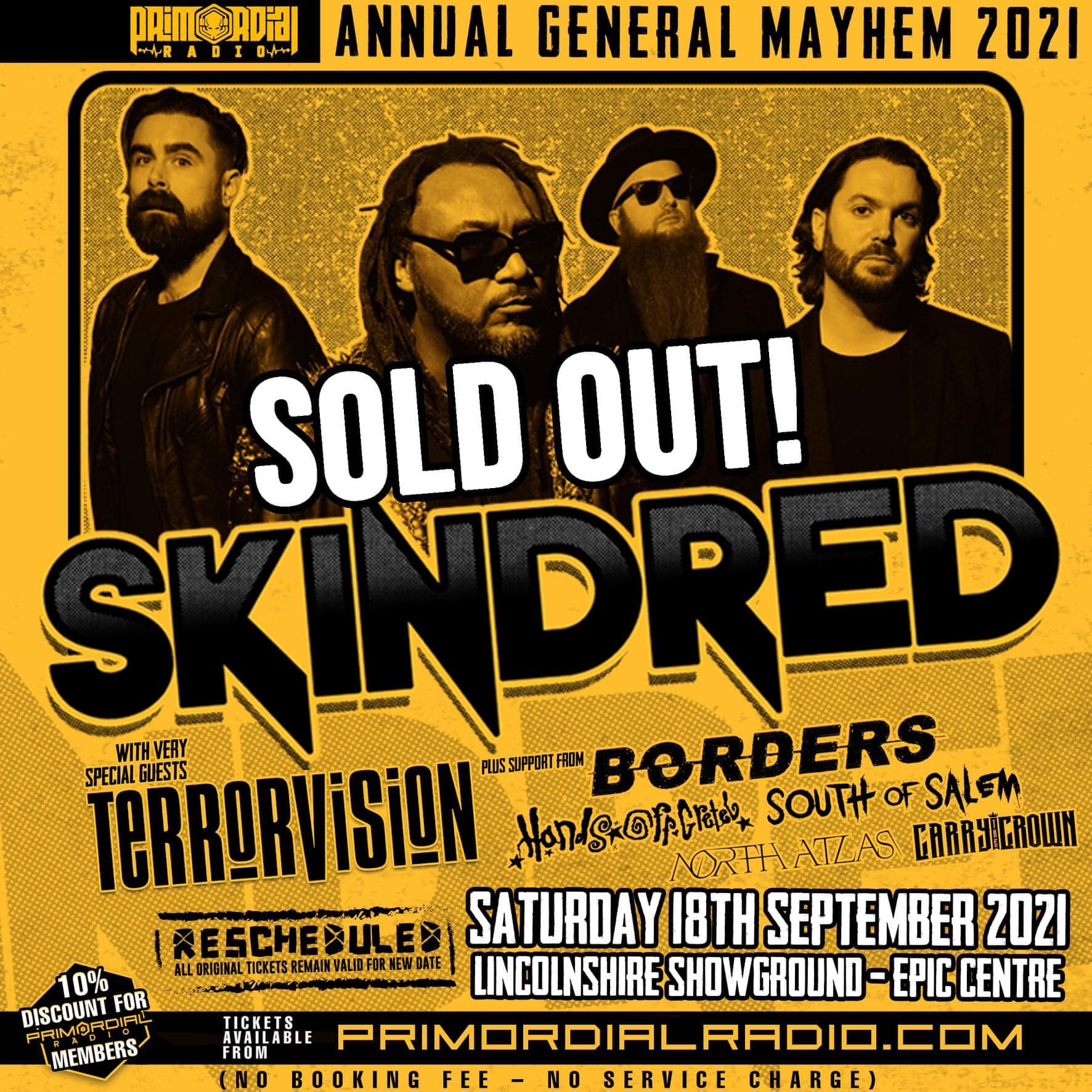 Primordial Radio AGM 2021 Sold Out