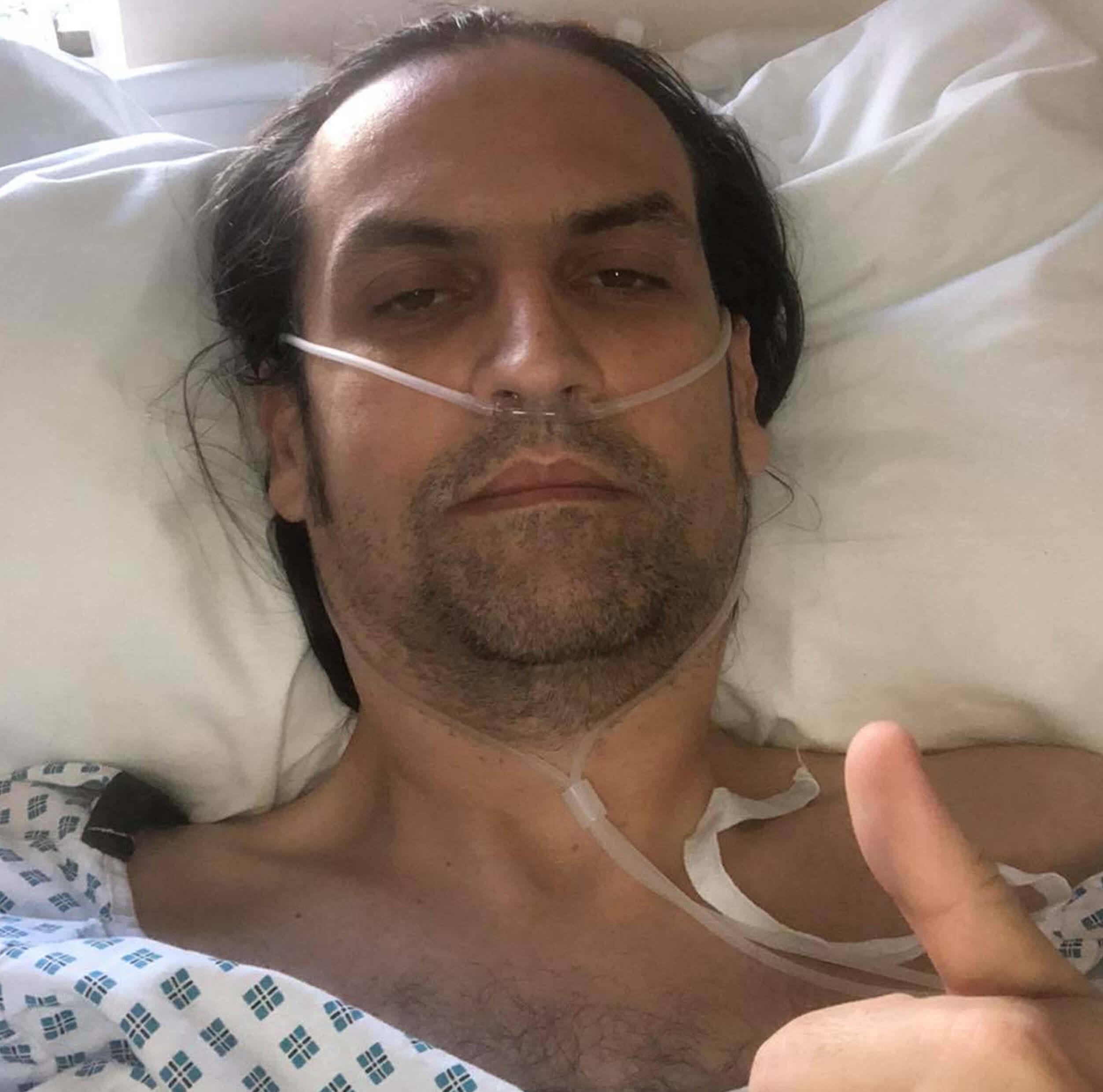 Dave Ferguson needing emergency surgery for appendicitis