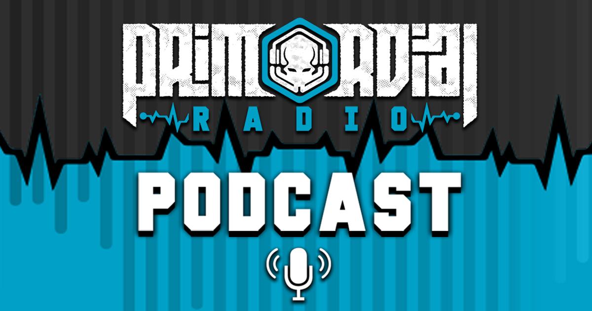 Primordial Radio Podcast Logo 2021