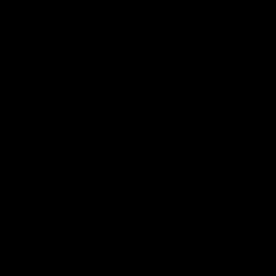 Primordial Black Icon Car Sticker