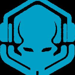 Primordial Blue Icon Car Sticker