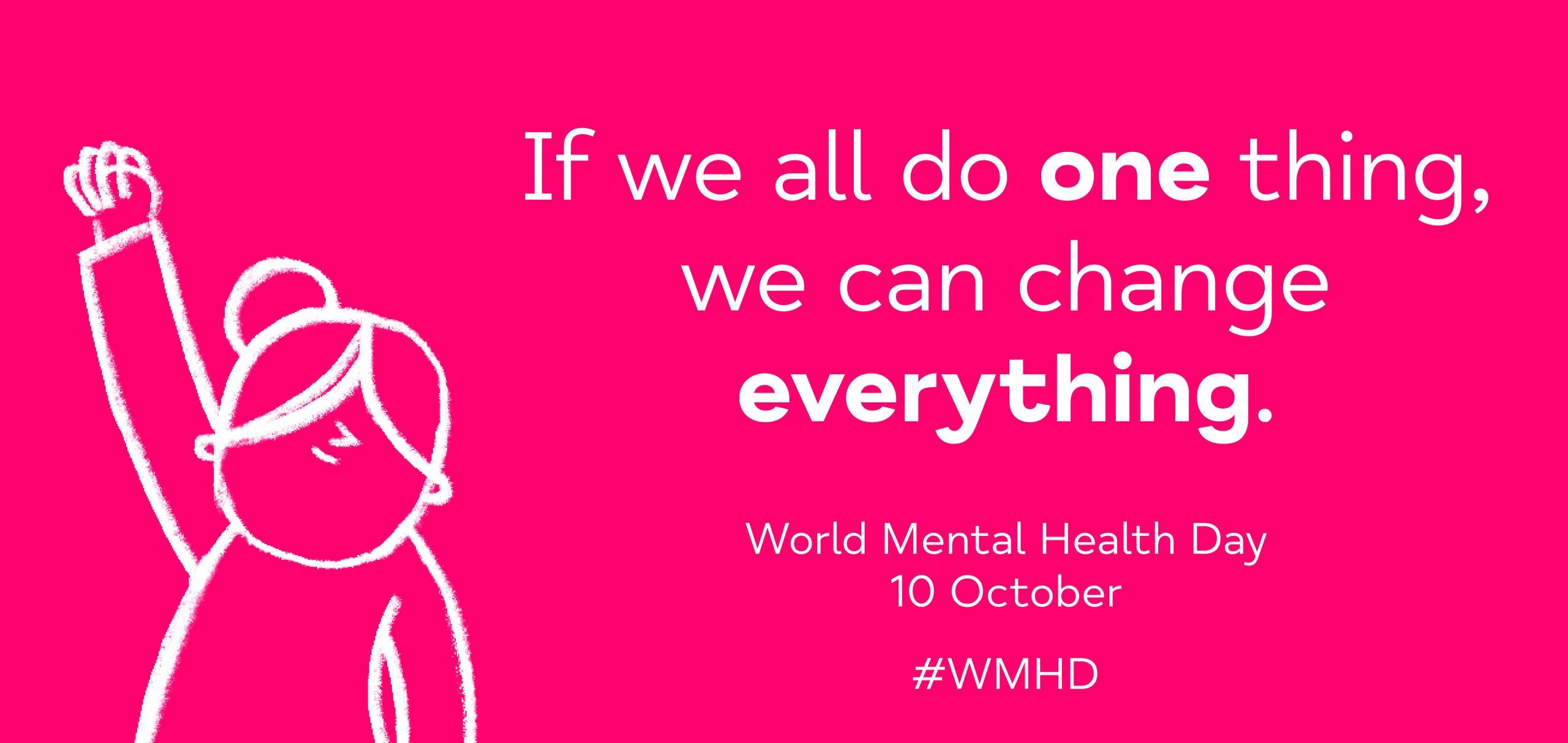 MIND World Mental Health Day Graphic 2021